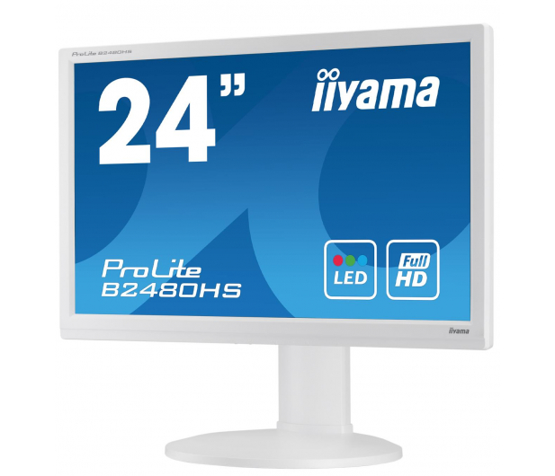 iiyama B2480HS biały  - 285630 - zdjęcie 2
