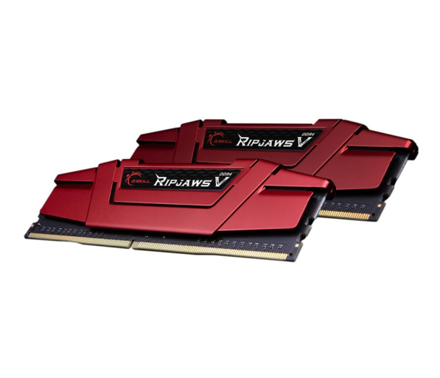 G.SKILL 16GB 2400MHz Ripjaws V Red CL15 (2x8GB) - 251179 - zdjęcie 3