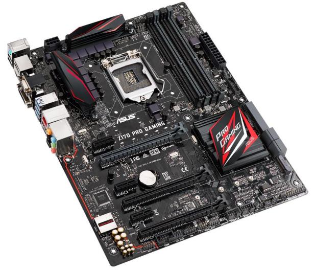 ASUS Z170 PRO GAMING (3xPCI-E DDR4) - 252941 - zdjęcie 3