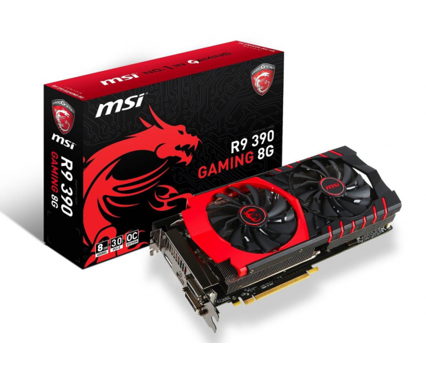 MSI Radeon R9 390 8192MB 512bit Gaming - 244740 - zdjęcie