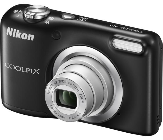 Nikon Coolpix A10 czarny + futerał  - 290800 - zdjęcie