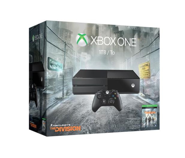 Microsoft XBOX One 1TB +The Division +3M - 291184 - zdjęcie