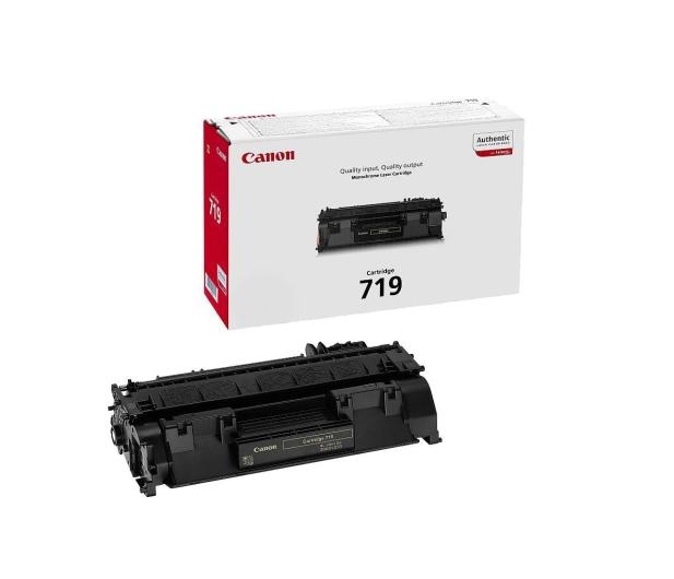 Canon CRG-719 black 2100str. - 63554 - zdjęcie
