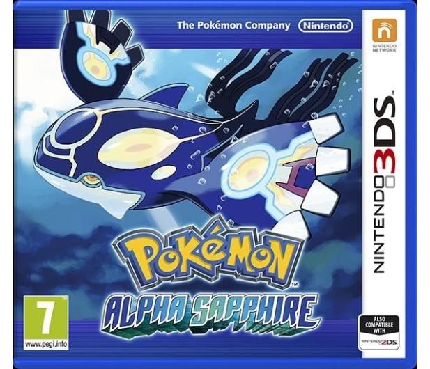 Nintendo 3DS Pokemon Alpha Sapphire - 290105 - zdjęcie