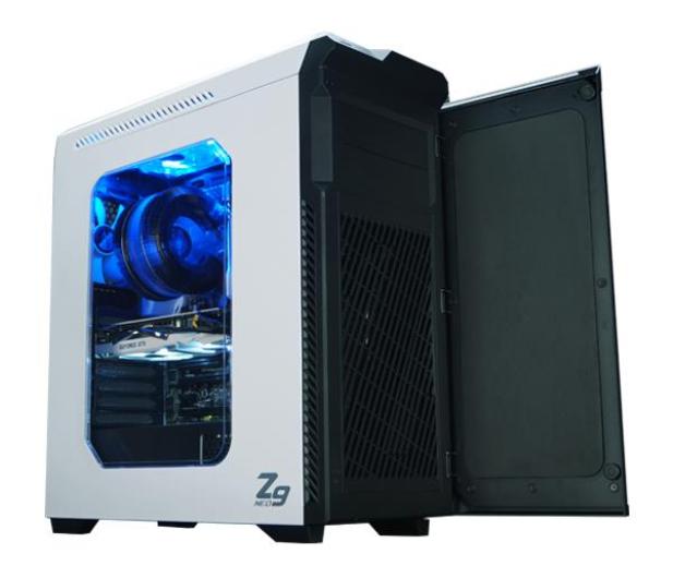 Zalman Z9 NEO biała z oknem - 292573 - zdjęcie 4