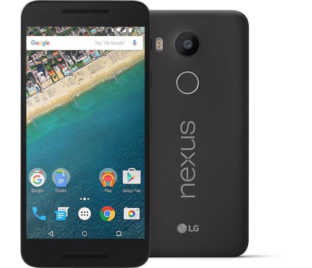 LG Nexus 5X 32GB czarny - 266422 - zdjęcie