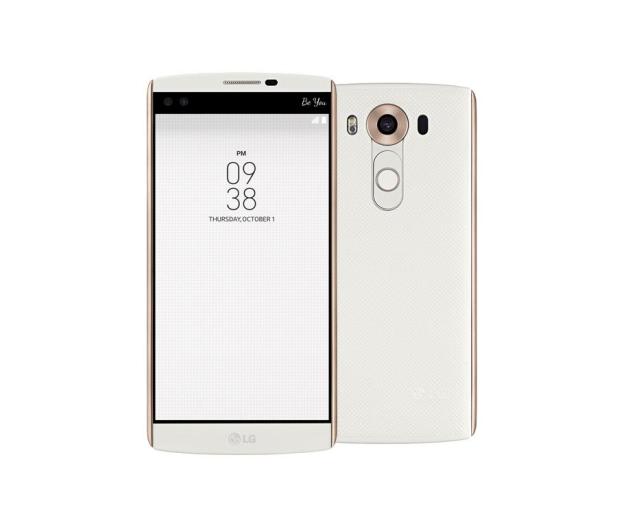 LG V10 biały - 281902 - zdjęcie