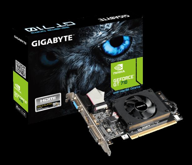 Gigabyte GeForce GT 710 2GB DDR3  - 288213 - zdjęcie