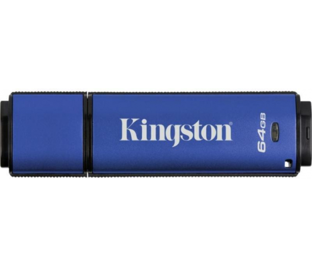 Kingston 64GB DataTraveler VP30 AES Encrypted USB 3.0 - 162181 - zdjęcie 3
