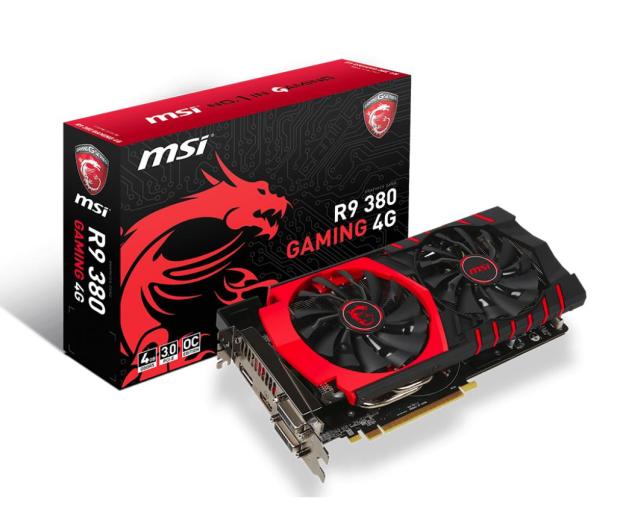 MSI Radeon R9 380 4096MB 256bit Gaming - 246379 - zdjęcie