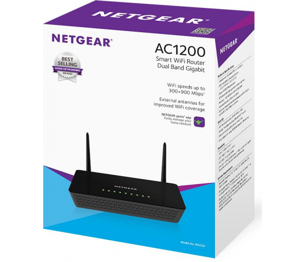 Netgear R6220 (802.11a/b/g/n/ac 1200Mb/s) USB Gigabit - 241838 - zdjęcie 4