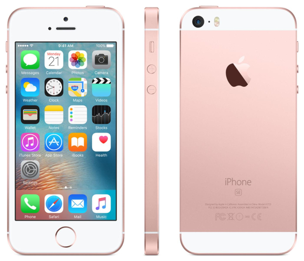 Apple iPhone SE 128GB Rose Gold - 356918 - zdjęcie 2