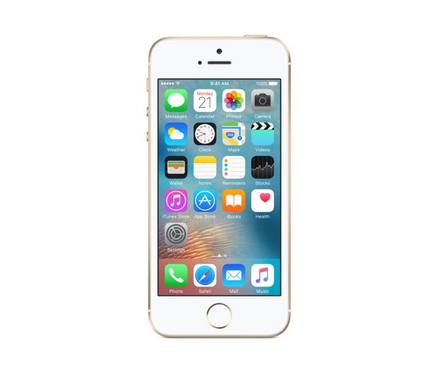 Apple iPhone SE 128GB Gold - 356917 - zdjęcie 3