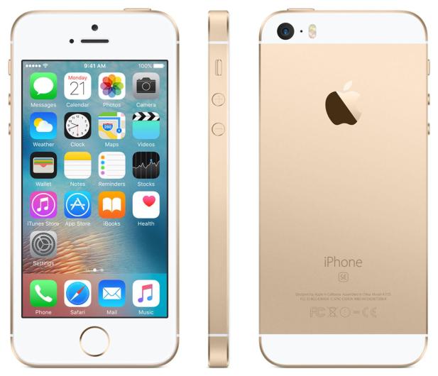 Apple iPhone SE 128GB Gold - 356917 - zdjęcie 2