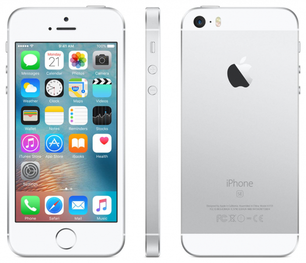 Apple iPhone SE 32GB Silver - 356910 - zdjęcie 2