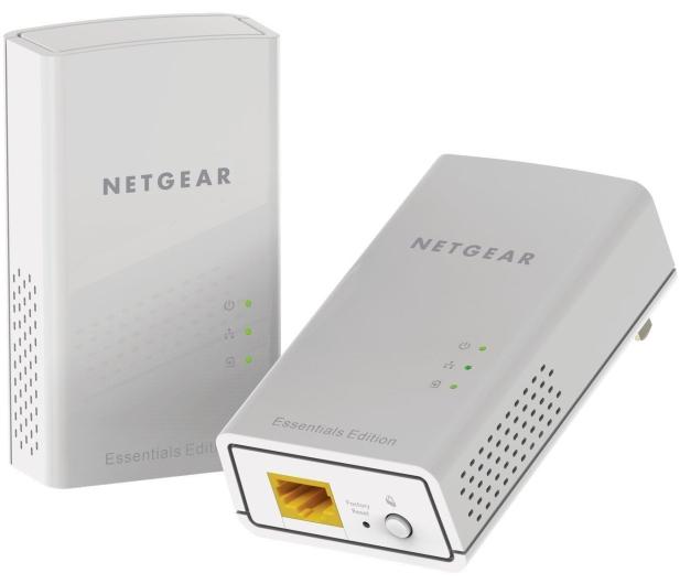 Netgear PL1000 PowerLine 1000Mb/s (2 sztuki) - 298471 - zdjęcie