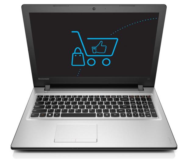 Lenovo Ideapad 300-15 i5-6200U/4GB/240/DVD-RW Srebrny  - 302366 - zdjęcie