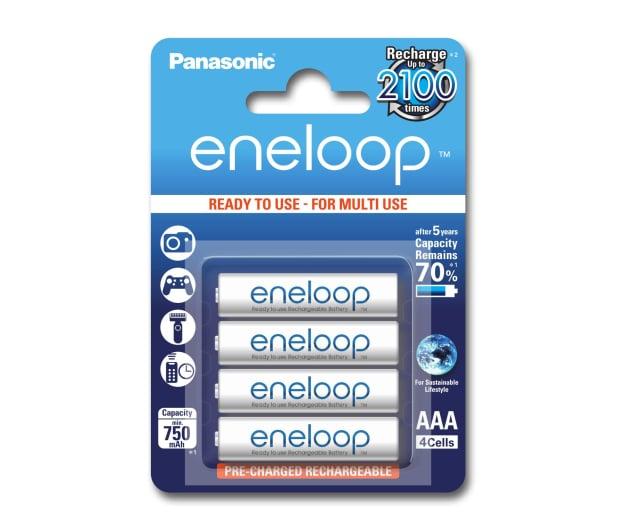 Panasonic Eneloop R03 /AAA 750 mAh (4 szt.) Blister  - 293297 - zdjęcie