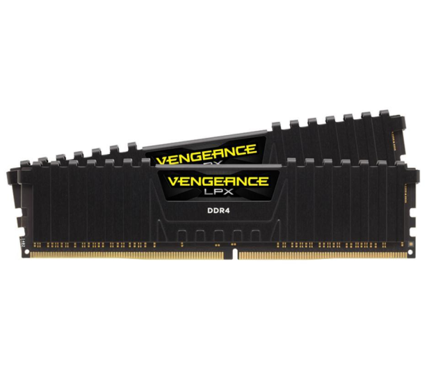 Corsair 16GB 2400MHz Vengeance LPX Black CL16 (2x8GB) - 360169 - zdjęcie 2