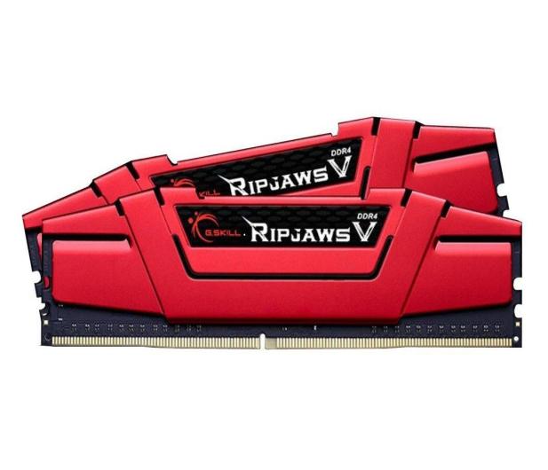 G.SKILL 32GB (2x16GB) 2400MHz CL15 Ripjaws V Red - 301153 - zdjęcie