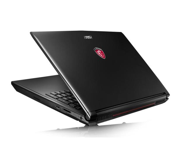 MSI GL62 i5-6300HQ/8GB/1TB+120SSD GTX960M FHD  - 321514 - zdjęcie 4