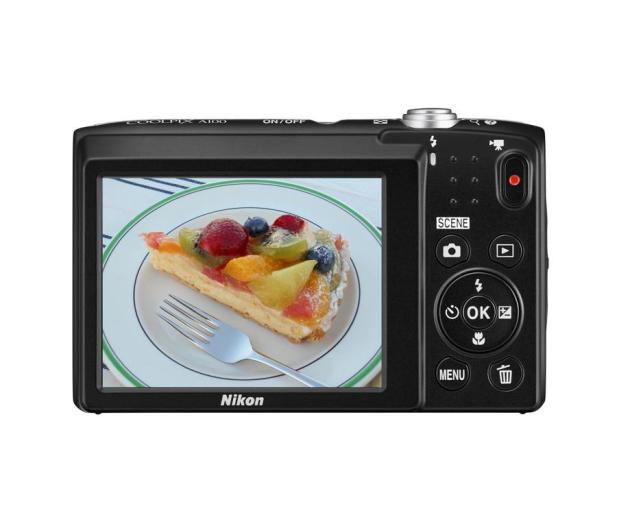 Nikon Coolpix A100 czerwony - 302526 - zdjęcie 3