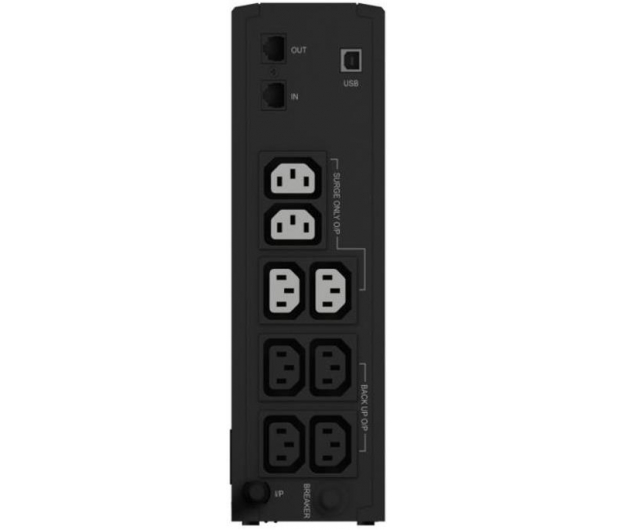 Ever ECO 800 LCD (800VA/500W, 8xIEC, USB, RJ-45, LCD) - 172020 - zdjęcie 2
