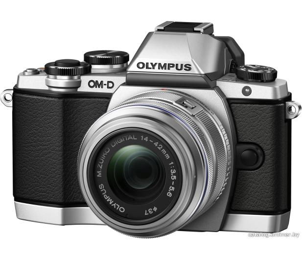 Olympus E-M10 Mark II srebrny + EZ-M 14-42 EZ  - 302775 - zdjęcie