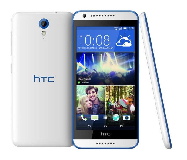 HTC Desire 620G Dual SIM biały - 222258 - zdjęcie