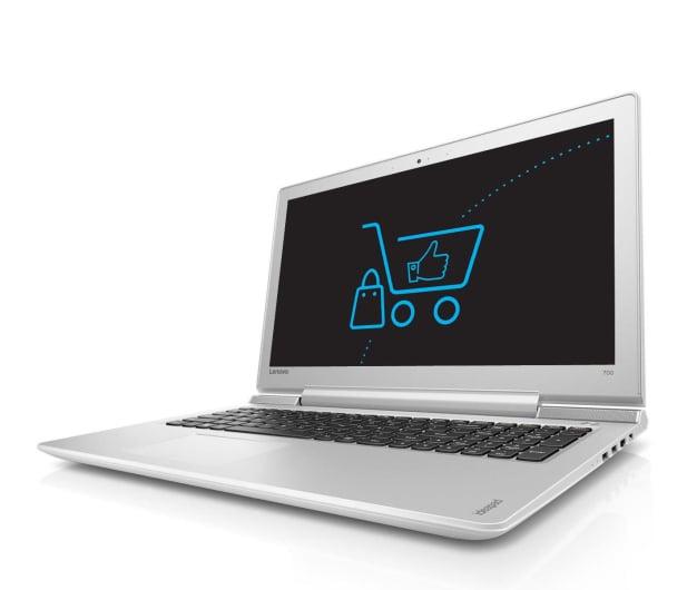 Lenovo Ideapad 700-15 i5-6300HQ/8GB/1000/GTX950M Biały - 345717 - zdjęcie