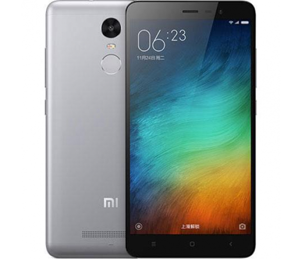Xiaomi Redmi Note 3 16GB Dual SIM LTE Dark Grey - 301524 - zdjęcie
