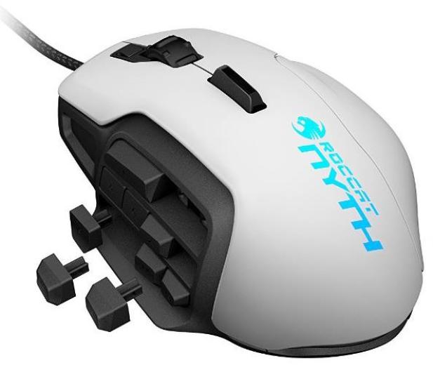 Roccat Nyth Modular MMO Gaming Mouse (biała)  - 298466 - zdjęcie 2