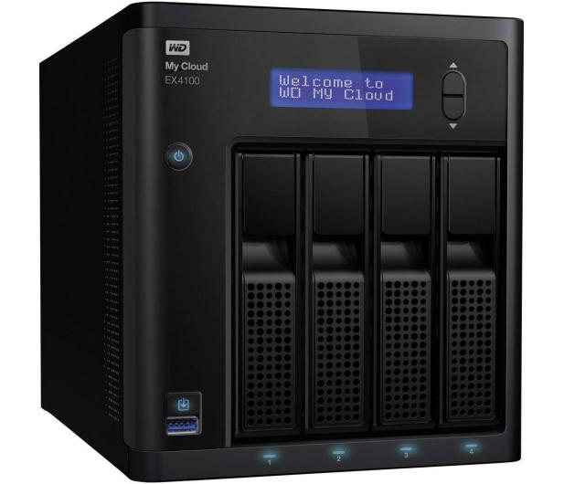 WD My Cloud EX4100 (bez dysków) - 227325 - zdjęcie 3