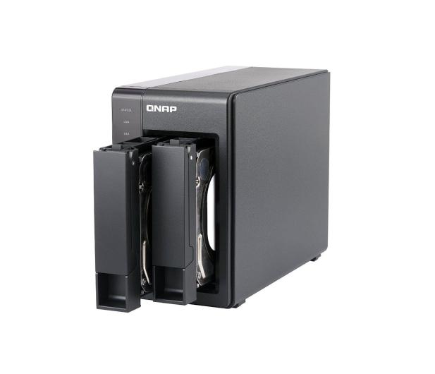 QNAP TS-251+-2G (2xHDD, 4x2-2.42GHz, 2GB, 4xUSB, 2xLAN) - 300240 - zdjęcie 4
