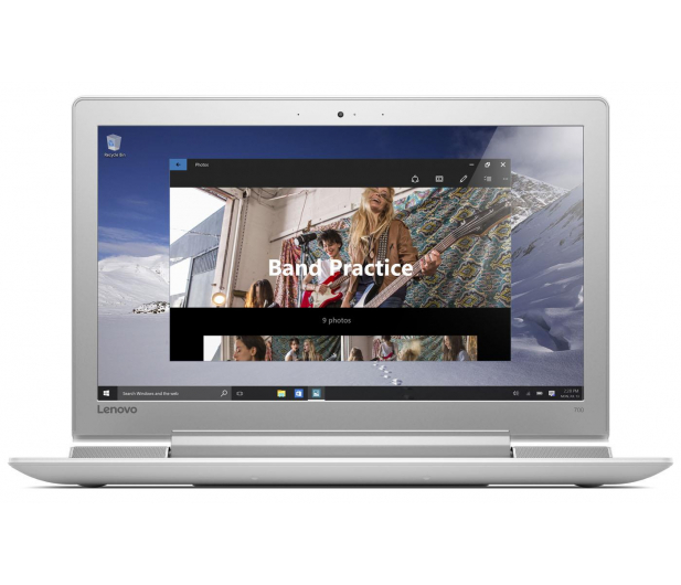Lenovo Ideapad 700-15 i5-6300HQ/8GB/1TB GTX950M FHD biały - 318170 - zdjęcie