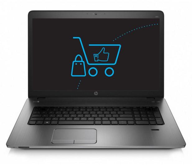 HP ProBook 470 G2 i7-5500U/8GB/1000/DVD-RW - 240502 - zdjęcie 2