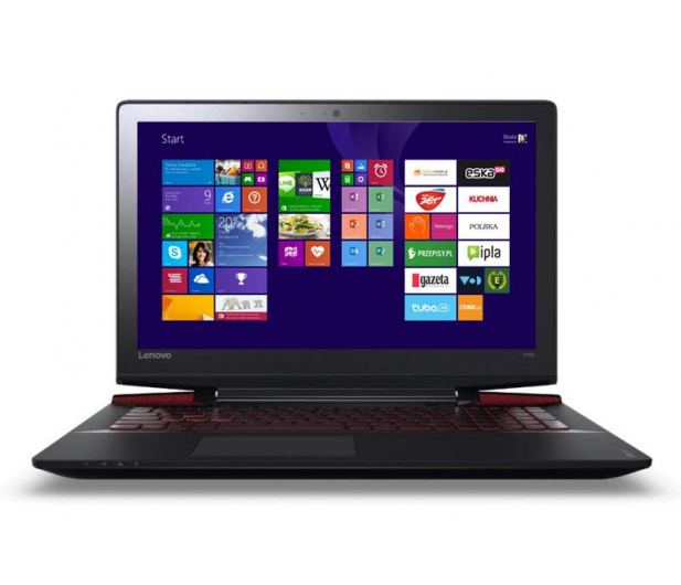 Lenovo Y700-17 i5-6300HQ/8GB/1000/Win8X GTX960M FHD  - 274372 - zdjęcie 2