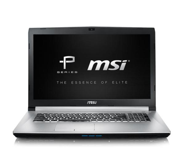 MSI PE70 6QE i7-6700HQ/8GB/1TB/DVD GTX960M  - 290367 - zdjęcie 2