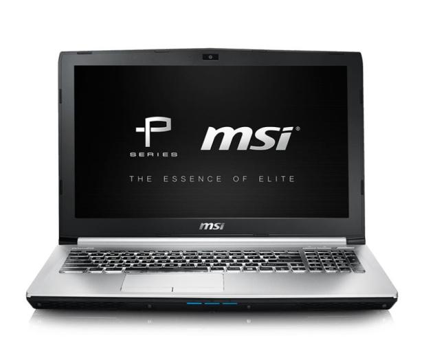 MSI PE60 6QE i7-6700HQ/8GB/1TB+256SSD GTX960M  - 291920 - zdjęcie 2