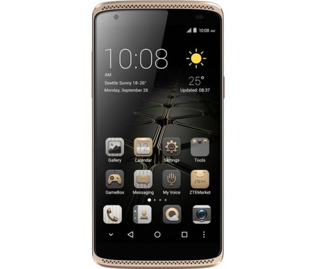 ZTE AXON mini Dual SIM LTE złoty - 307348 - zdjęcie