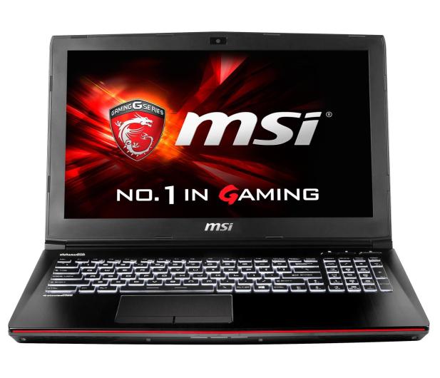 MSI GE62 Apache i7-6700HQ/16GB/256+1000 GTX960M FHD  - 269878 - zdjęcie 2