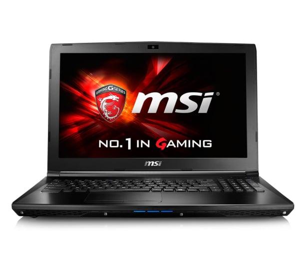 MSI GL62 i5-6300HQ/8GB/1TB+120SSD GTX960M FHD  - 321514 - zdjęcie 2