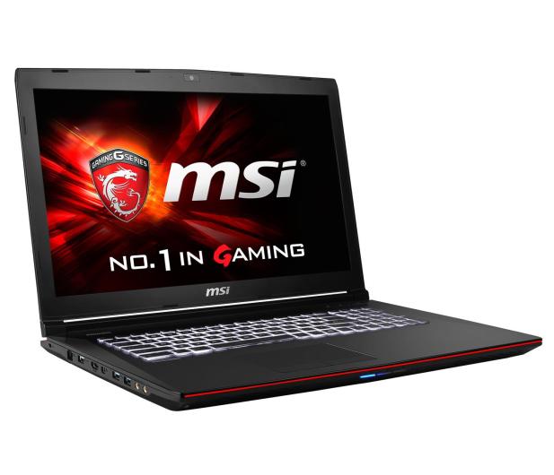 MSI GE72 Apache i7-4720HQ/16GB/240+1000 GTX965 FHD - 227481 - zdjęcie 6