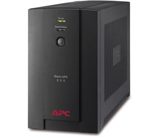 APC Back-UPS (950VA/480W, 4xFR, RJ-11, USB, AVR) - 260375 - zdjęcie