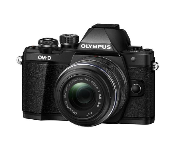 Olympus E-M10 Mark II czarny + EZ-M 14-42 EZ - 302776 - zdjęcie