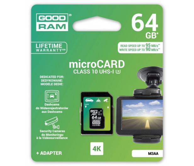 GOODRAM 64GB microSDXC zapis 90MB/s odczyt 95MB/s - 309242 - zdjęcie 3