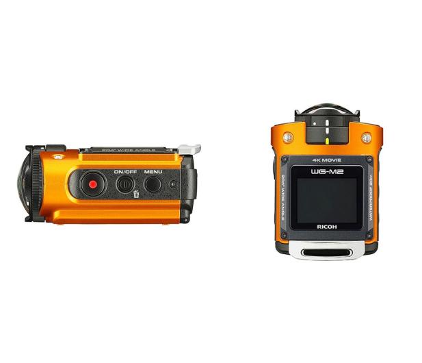 Ricoh WG-M2 4K pomarańczowa - 305644 - zdjęcie 5