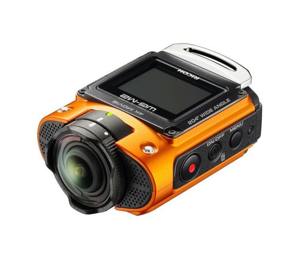 Ricoh WG-M2 4K pomarańczowa - 305644 - zdjęcie 2