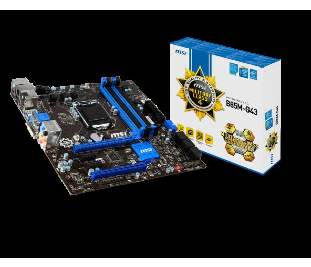 MSI B85M-G43 (B85 2xPCI-E DDR3) - 151926 - zdjęcie