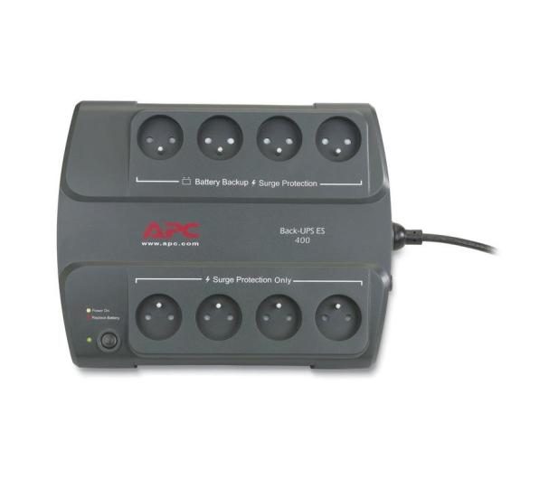 APC Back-UPS ES (400VA/240W, 8xPL, 1,8m) - 27382 - zdjęcie 2